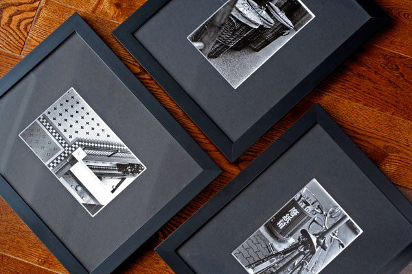 Hand-printed Silver Gelatin Photographs by Caprina Valentine for the Black and White Show at Coast Collective Gallery