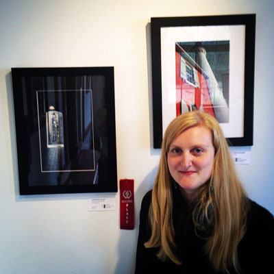 Second Place in Black + White +1 Art Show at Coast Collective Gallery