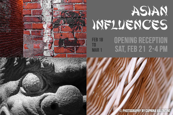 Asian Influences at Coast Collective Gallery - Photography by Caprina Valentine