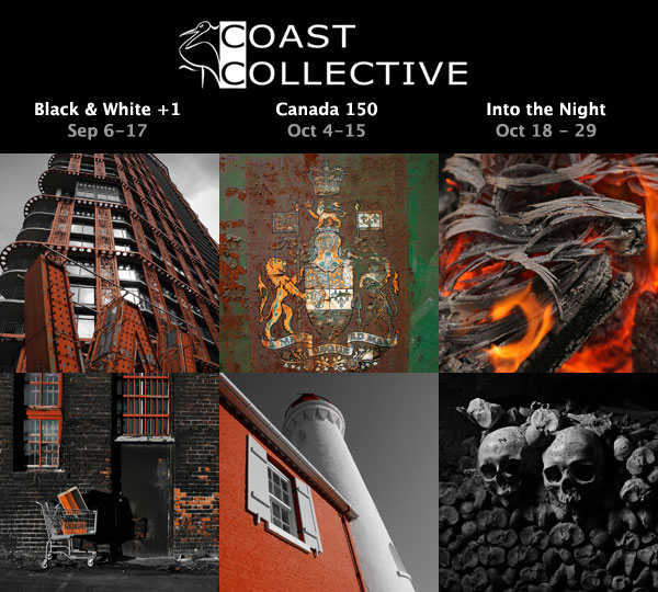 Autumn 2017 Art Shows at Coast Collective Gallery