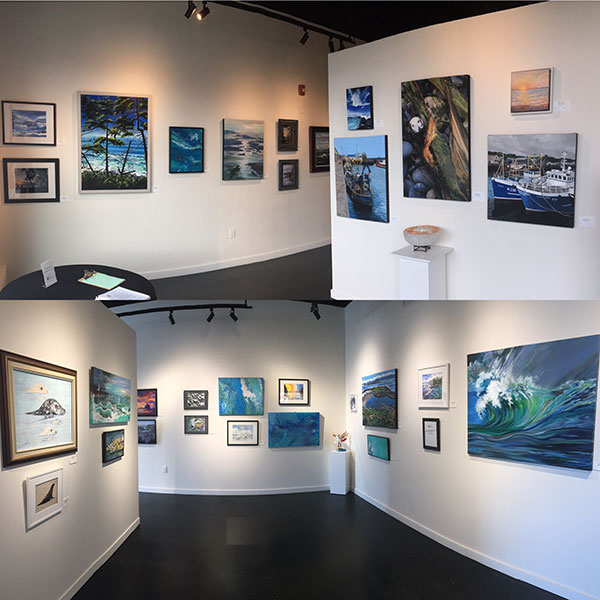 Oceans Art Show at Coast Collective Gallery